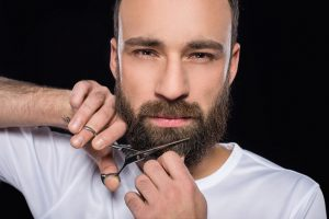 Trimming Facial Hair and Beards