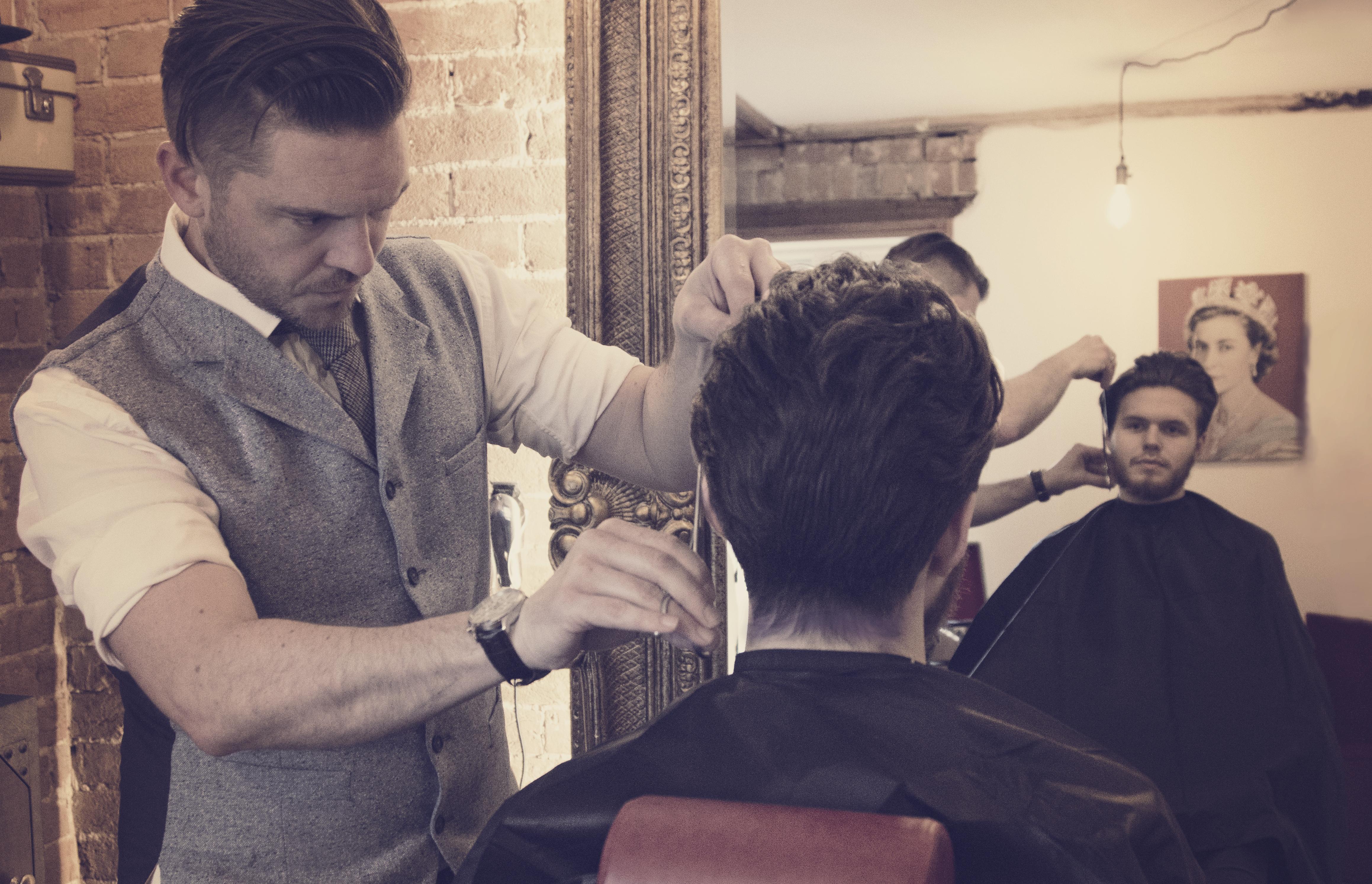 UK Man Barbers
