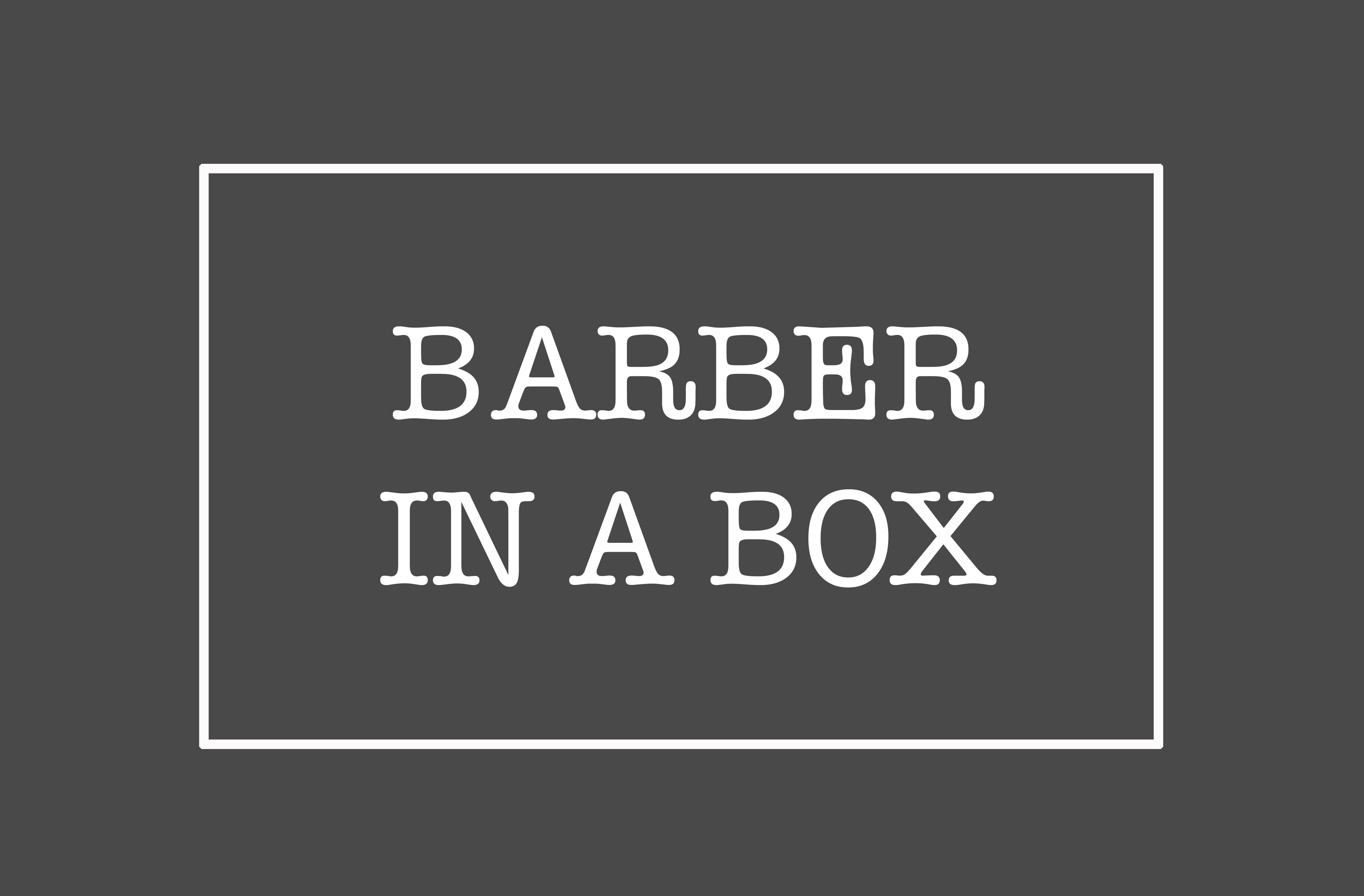 Barber In A Box