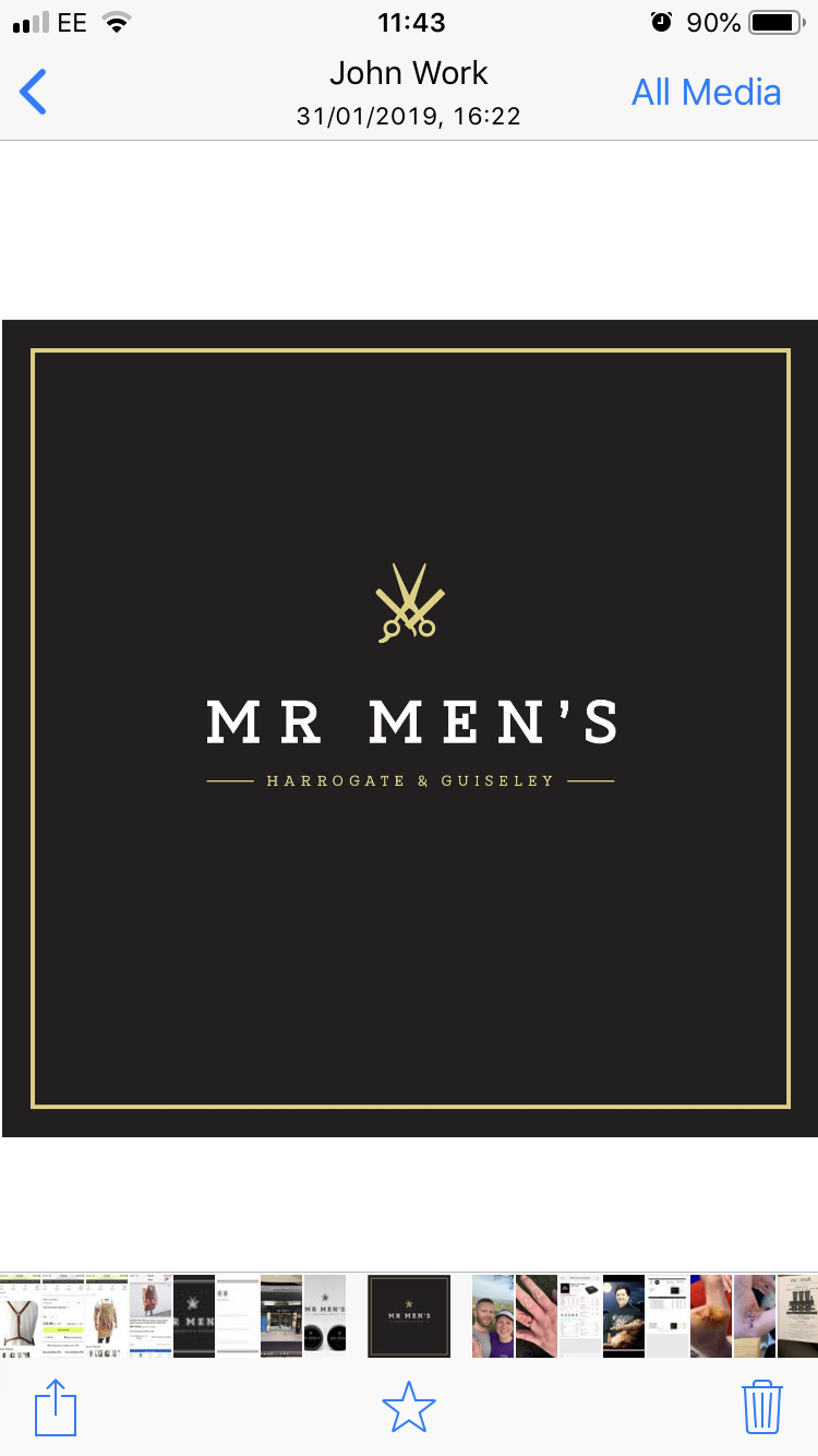 Mr men's barbers