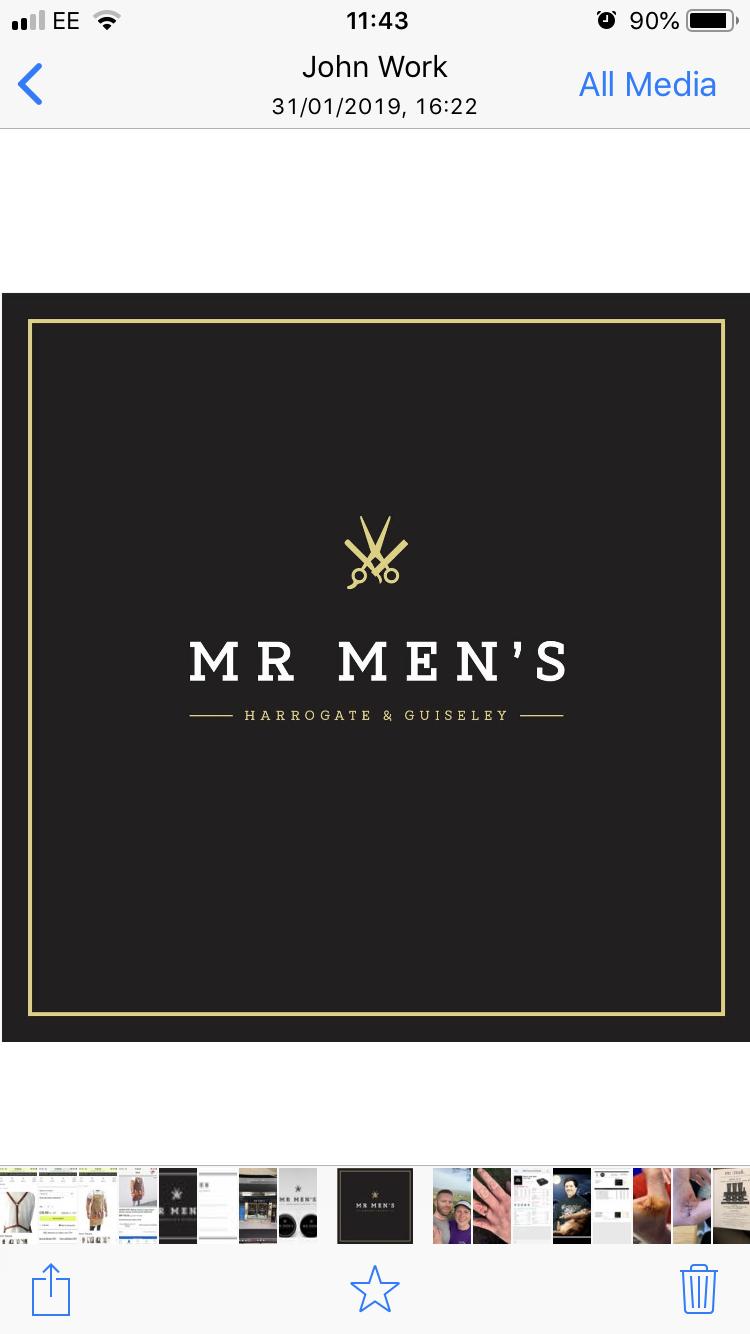 Mr men's barbers