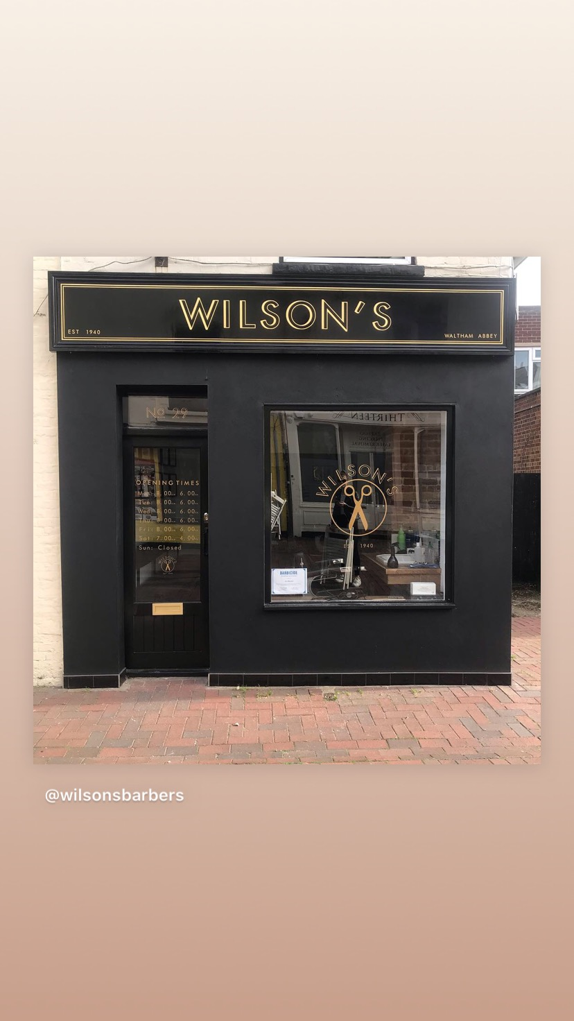 Wilson's barbers of Waltham Abbey